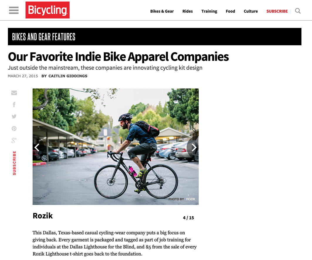 rozik bicycling mag